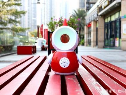 儿童早教机器人乐源阿拉丁神灯机器人评测:首款可以离线灯光控制的儿童机器人