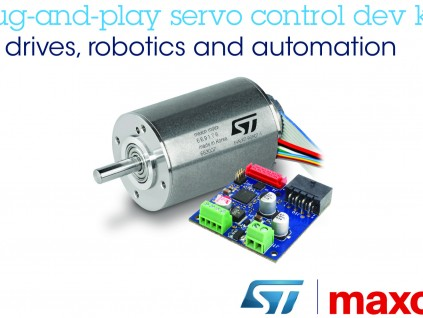 意法半导体与maxon合作开发机器人及自动化精密电机控制解决方案