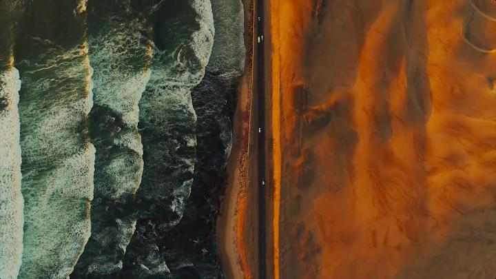 奥迪×大疆创新拍了部风光大片:来自天空之城的旅人