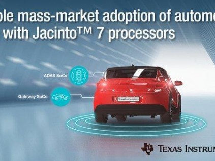 德州仪器开发套件:高性能ti jacinto 7处理器促进汽车adas的大规模市场应用