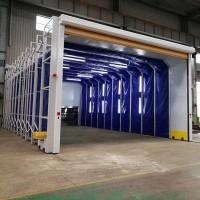 移动伸缩喷漆房在涂装行业中的应用