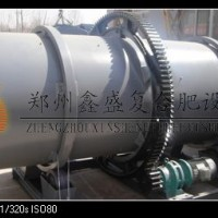 选择郑州鑫盛 专业技术 猪粪生物质小型转鼓造粒机