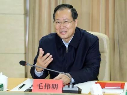 毛伟明简历简介 江西省委常委、副省长毛伟明任国家电网董事长