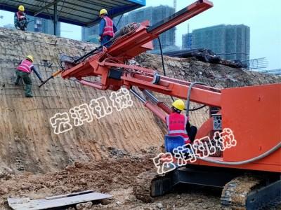 河南专用基坑履带式锚固钻机  隧道锚固钻机 打锚杆钻机
