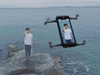 大疆发布Mamo手机飞行云台,Mamo无人机Al人工智能技术尽情实现你的拍摄创意