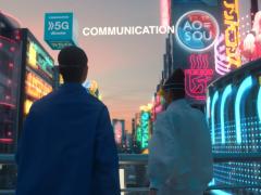 日本docomo 5G广告 新しい物語のはじまり(新的物语正在开始)