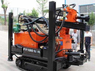 直销履带式气动水井钻机 钻孔快气动水井钻机 农用水井钻机