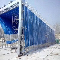 各种规格移动喷漆房制造 现场安装调试一体化