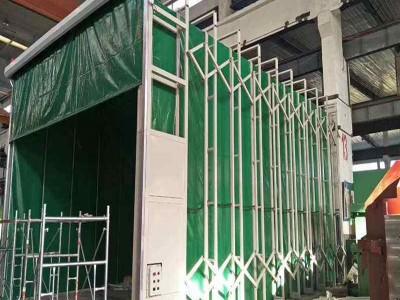 折叠式移动伸缩式轨道式喷漆房方案配置价格