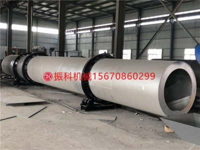 贵州大型石英砂滚筒烘干机 三筒转筒干燥设备