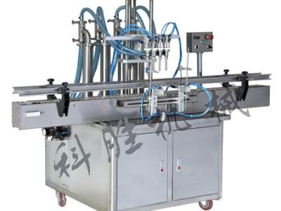 邯郸科胜四头液体灌装机|葱油自动灌装机|河北灌装机