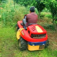 座驾式割草机 双刀侧排割草机 乘坐式割草机