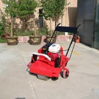 园林养护机械打孔机 通气透水草坪钻孔机 高尔夫球场草坪打孔机