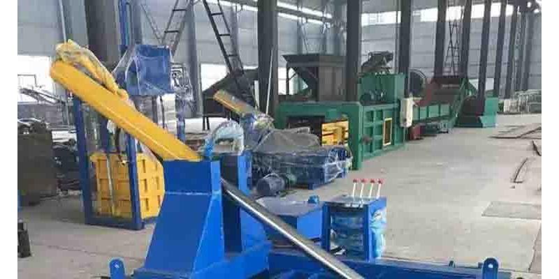 废金属压块机-焦作金属压块机 金属打包压块机