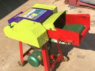 揉丝铡草机 牧草饲料铡草机 全自动输送带铡草机