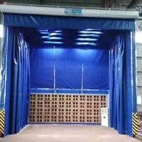 整体移动伸缩房 轨道移动喷漆房 运行稳定   风量计算