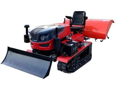 多功能履带式旋耕机 乘坐式微耕机 开沟回填除草田园管理耕地机