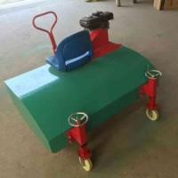 园林大毛刷刷草机 人造草坪草丝梳理机 人造草坪梳草机