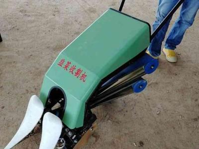 手扶电动韭菜收割机 甜叶菊韭菜收割机 大棚蔬菜收获机械
