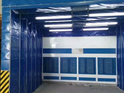38米x19米x6米移动喷漆房 配置单
