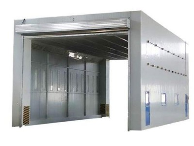 移动伸缩房 整体移动房 固定喷漆房 配套设备